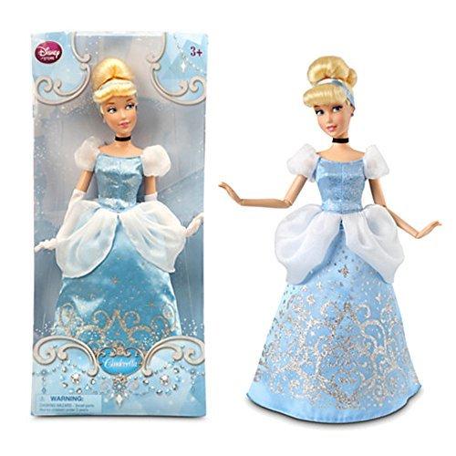 Cinderella Schuh Disney (Offizielle Disney Cinderella 31cm Klassik-Abbildung)