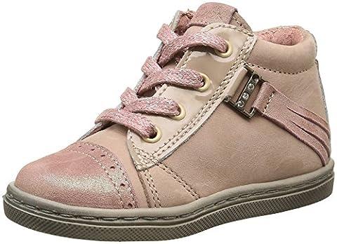 Aster Rifia, Chaussures Premiers pas bébé fille, Beige (Chair), 24