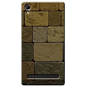 STONE WALL BACK COVER INTEX AQUA POWER PLUS