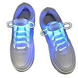 Xiaokesong® Ein Paar Glowing Flash LED Blinklicht Leuchtende Schuhbänder...