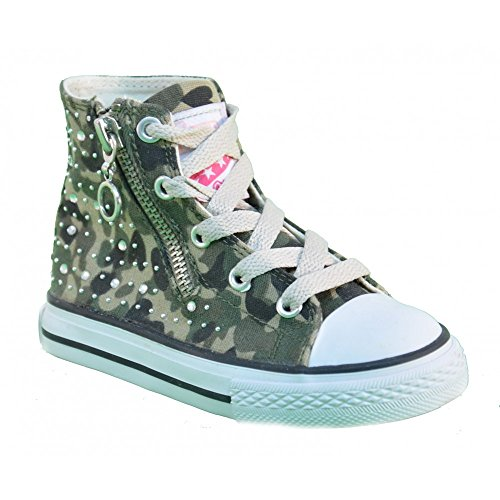 Naturino 2541 001200781001 Mädchen Sneaker Grün