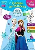 Cahier de vacances la Reine des Neiges de la MS à la GS