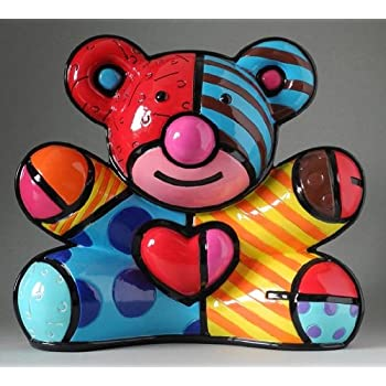 Figur Porzellan Goebel Big Apple H 17 cm 66451951 Dekoration Romero Britto
