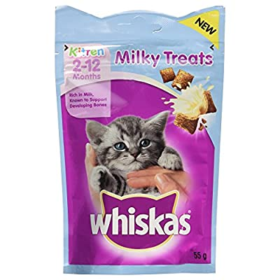 Whiskas Kitten Milky Treats 2-12 Months, 55 g