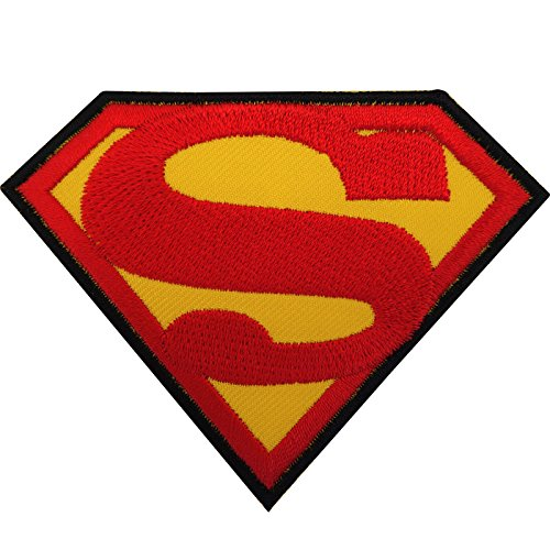 Superman Patch Eisen/Nähen auf gesticktes Badge Logo Emblem Symbol Film Movie Spielzeug -