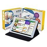 Tablette Simplifiée pour Senior ARDOIZ, avec 1 an d'abonnement prépayé, 30 Jours satisfait ou remboursé, Livraison Offerte