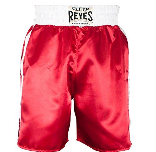 Cleto Reyes cc536rb Shorts Boxing, Herren, Rot/Weiß, M - Reyes Shorts