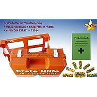 Erste-Hilfe-Koffer KITA DIN 13157 für Betriebe incl. kindgerechter Pflaster + Verbandbuch K15 preisvergleich bei billige-tabletten.eu