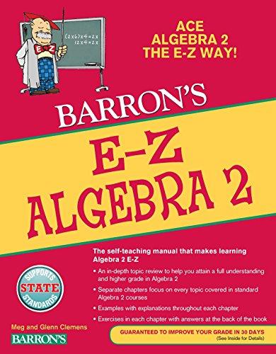 E-Z Algebra 2 (Barron's E-Z Series)