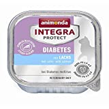 Animonda Integra Protect Diabetes mit Lachs | 16x 100g Katzenfutter