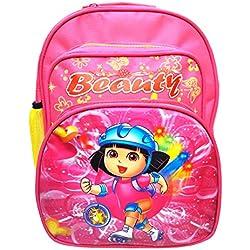 Batu Lee Dora the Exploeer 15 inch Pink Waterproof Children's Backpack