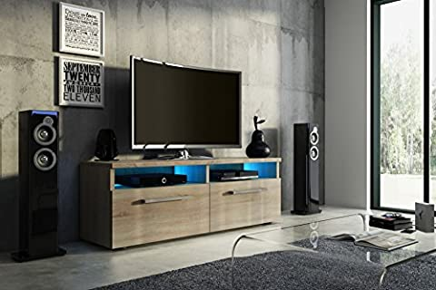 Tv Schrank BOON Tv Lowboard Unterschrank Hochglanz !!! Mit LED