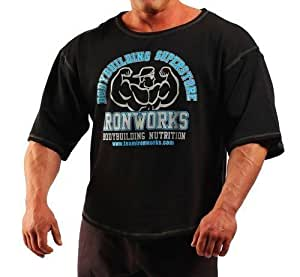 team ironworks t shirt musculation pour homme couleur. Black Bedroom Furniture Sets. Home Design Ideas