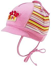 EveryHead Fiebig Fille Cravate Bonnet À Lanières Cap Jersey Casquette  Visière Été Hat Chapeau De Coton 7f434ead5ca