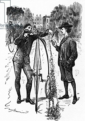 reproduction-poster-george-l-du-maurier-the-line-of-beauty-cartoon-in-punch-published-december-9-187