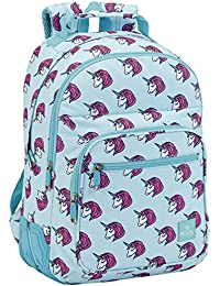 Safta Mochila Escolar Moos Unicorn Oficial 320x150x420mm