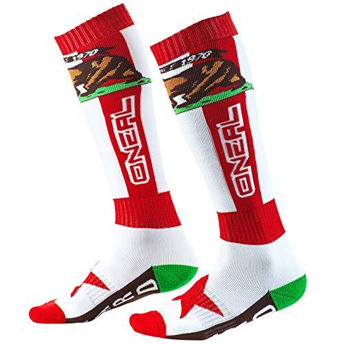O'Neal Unisex Socken Pro MX California, Rot, 0356