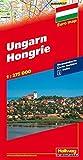 Ungarn Strassenkarte 1:275 000: Index (Hallwag Strassenkarten) -