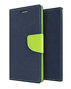 Samsung Galaxy Core GT8262 Flip Cover By Relax&Shop (Blue Green)