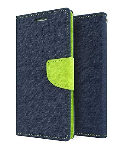 Xiaomi Redmi Note 4G Flip Cover By Online Street (Blue Green)  available at amazon for Rs.189