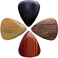 Timber Tones Plettro per Chitarra Elettrica in Contenitore di Latta, 4 pezzi