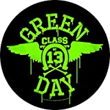GREEN DAY       NEON WINGS      Backpatch
