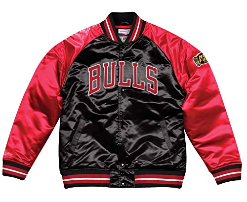Mitchell & Ness Tough Season Satin College Jacket Chicago Bulls (XXL)