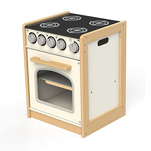 Bigjigs Toys Tidlo T0301 Wooden Cooker Play Kitchen Accessories