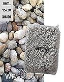 WUEFFE S.R.L. Ciottoli di Torrente - sacco da 25 kg - sassi fiume pietre giardino (30/60)
