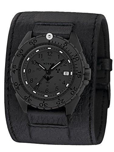 KHS Tactical Watches Enforcer Black Titan XTAC Militär Armbanduhr KHS.ENFBTXT.LK