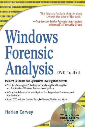 Windows Forensic Analysis DVD Toolkit (English Edition)