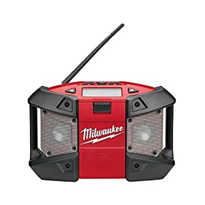 Milwaukee C12 JSR-0 Compact Jobsite Radio with MP3 Connection 12 Volt Bare Unit