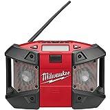 Milwaukee 4933416365 Netz/Akku-Radio C12JSR/0, 12 W, 12 V
