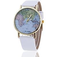 darpy (TM) Mappa del mondo orologio relogio