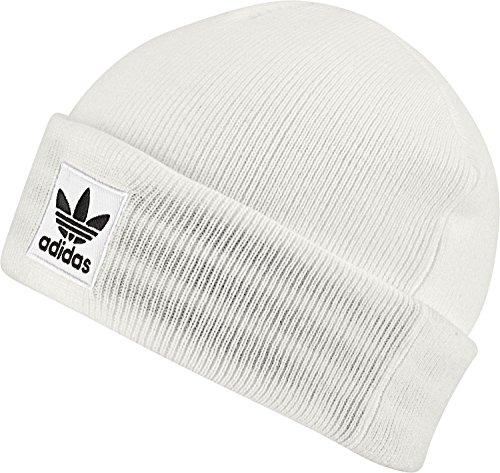 adidas Herren Logo Mütze White/Black