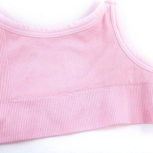 UTOVME Reggiseno Allattamento senza Ferretto con coppa completa, confortevole e flessibile. Rosa