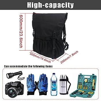 Travel Holder Bag, Hohe Kapazität Rucksack Cargo Satteltasche Reserverad Aufbewahrungstasche Für Wrangler Jk Yj Tj Suv 5