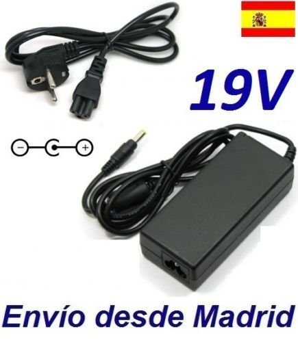 Cargador Corriente 19V Reemplazo Televisor LED LG 19MN43D TV Recambio Replacement