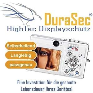 DuraSec HighTec Displayschutzfolie für Sony Cybershot DSC W5