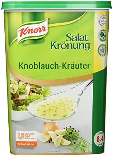 Kräuter-knoblauch (Knorr Salatkrönung Knoblauch Kräuter Dressing (Trockenmischung für Salatdressing mit ausgesuchten Kräutern, Gewürzen und Knoblauchnote) 1er Pack (1 x 1 kg))