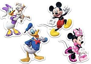 TREFL-Puzzle Baby bajo Licencia Mickey Mouse 2-3-4-5Piezas, 36060u
