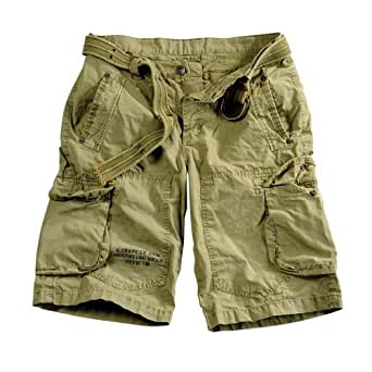 Edge Short light olive, 33, Alpha Industries Cargo Short