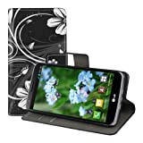 kwmobile Wallet Case Kunstlederhülle für LG G2 Mini -