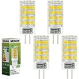 MENGS® Pack de 4 Bombilla lámpara LED 5 Watt G4, 51x 2835 SMD, Blanco Frío 6000K, AC/DC 12V
