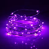String Light,Woopower 5M 50 LED USB Copper Wire String Lamp Fairy Light for Festival Party Outdoor Bar Christmas Xmas Decor (Purple)