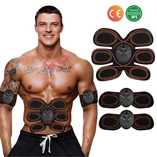 ZHENROG Elettrostimolatore per Addominali EMS Muscoli Scolpiti, Elettrostimolatore Muscolare Professionale per Uomo e Donna - ABS Stimolatore Addome/Braccio/Gambe/Waist/Glutei Massaggi-Attrezzi