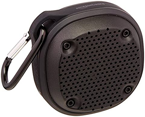AmazonBasics - Mini-Bluetooth-Lautsprecher, kabellos, stoß- und