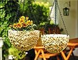 Blumenampel, 2er Set