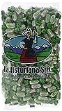 Caramelo Eucaliptus Sin Azúcar La Asturiana - Refrescante caramelo duro de eucalipto SIN AZÚCAR, despeja nariz y garganta, sin gluten, bolsa 1 kilo