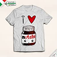 t-shirt bambino I love Nutella